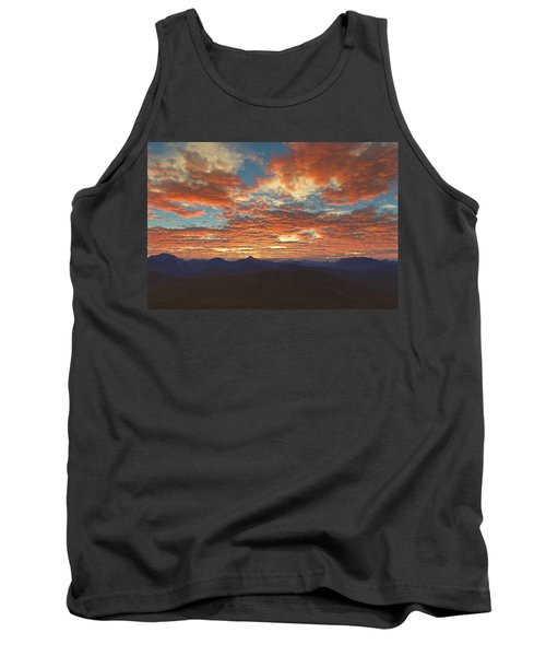 Western Sunset Tank Top