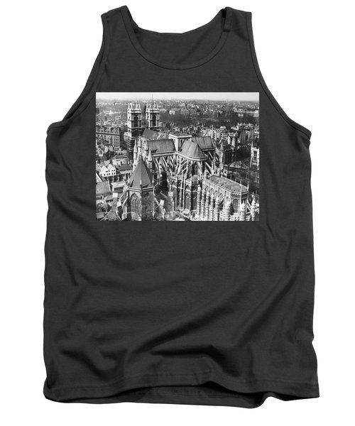 Westminster Abbey In London Tank Top by Underwood Archives