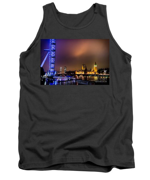 Westminster And Eye Night Glow Tank Top