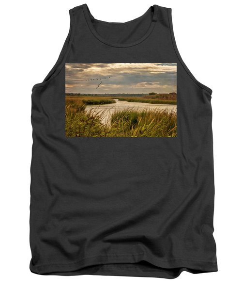 Wetlands In September Tank Top
