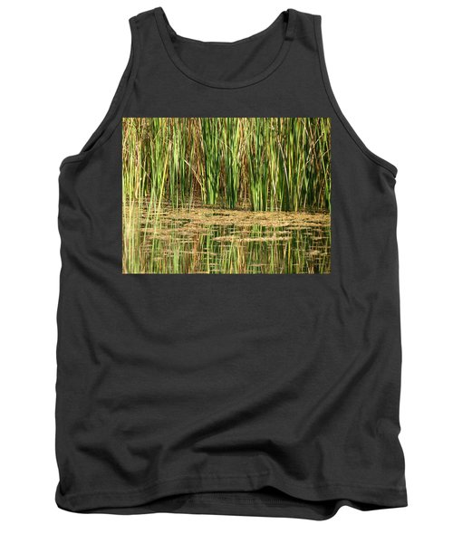 Tank Top featuring the photograph Wetlands by Laurel Powell