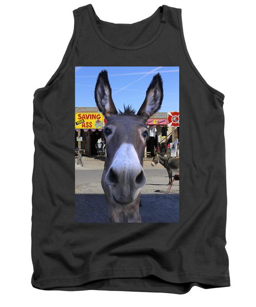 What . . . No Carrots Tank Top by Mike McGlothlen
