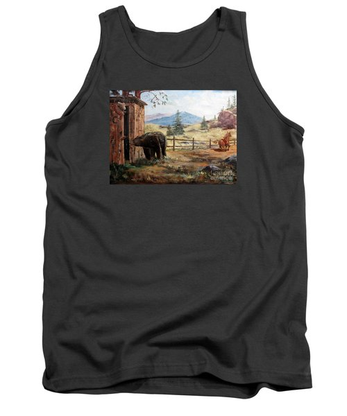 What Now Tank Top by Lee Piper