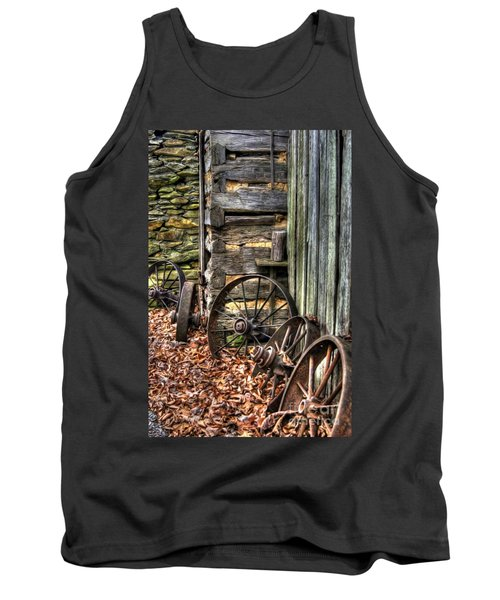 Wheels Of Time Tank Top by Benanne Stiens