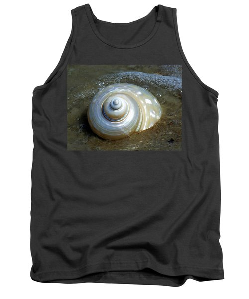 Whispering Tides Tank Top by Karen Wiles