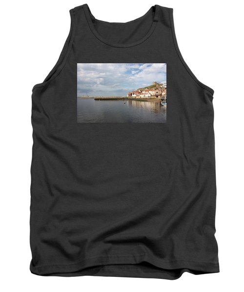 Tank Top featuring the photograph Whitby Abbey N.e Yorkshire by Jean Walker