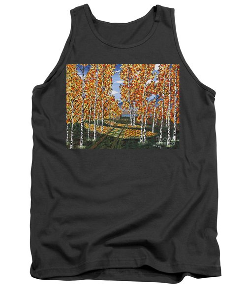 White Birch Reservoir  Tank Top
