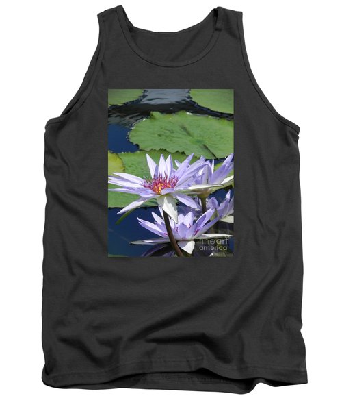 Tank Top featuring the photograph White Lilies by Chrisann Ellis