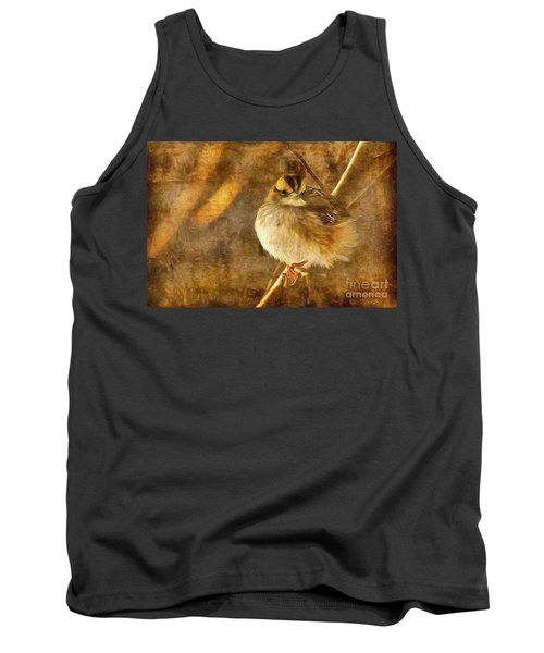 White Throated Sparrow Tank Top
