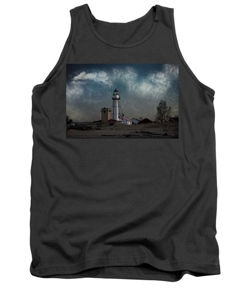 Whitefish Point Lighthouse Lake Superior Tank Top