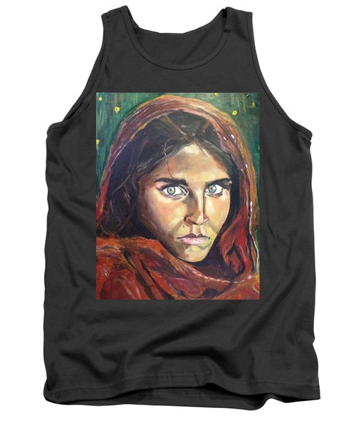 Who's That Girl? Tank Top by Belinda Low