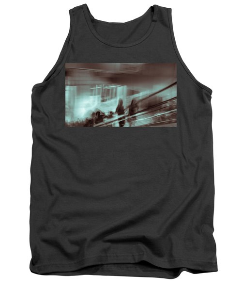 Tank Top featuring the photograph Why Walk When You Can Ride by Alex Lapidus