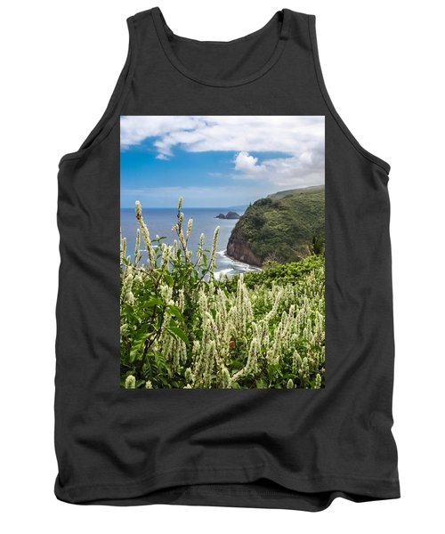 Wild Flowers At Pololu Tank Top by Denise Bird