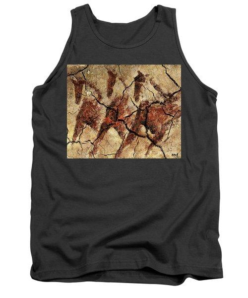 Wild Horses - Cave Art Tank Top
