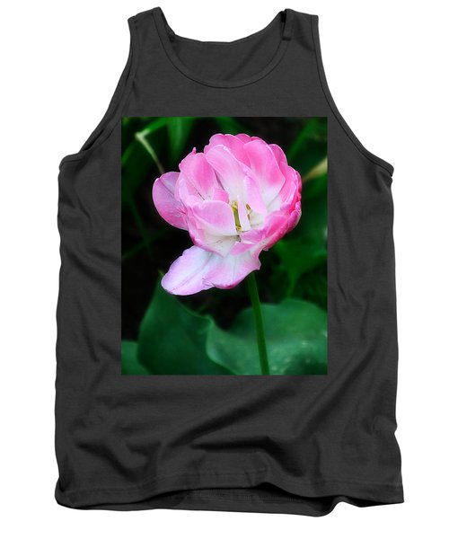 Wild Pink Rose Tank Top