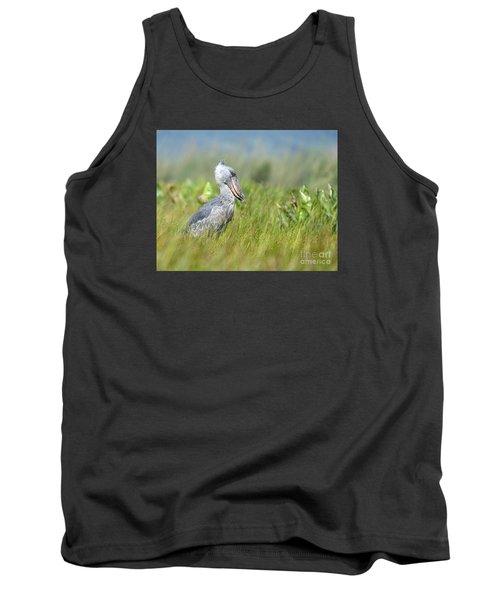 Wild Shoebill Balaeniceps Rex  Tank Top