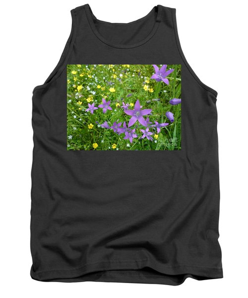 Tank Top featuring the photograph Wildflower Garden by Martin Howard
