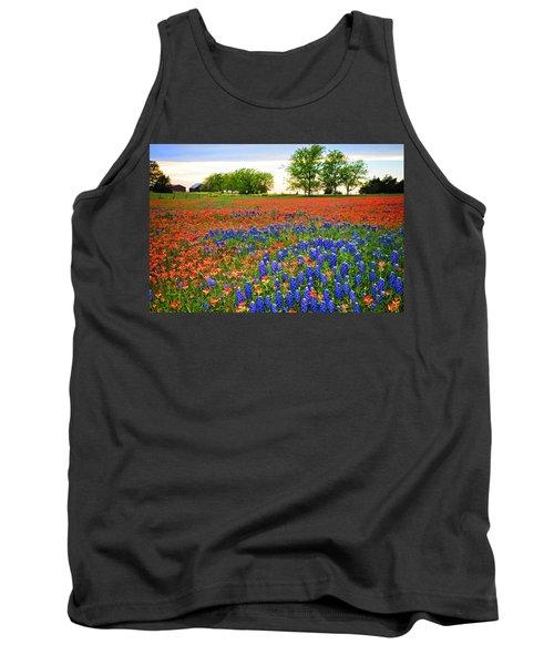 Wildflower Tapestry Tank Top