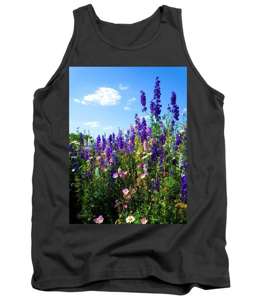 Wildflowers #9 Tank Top by Robert ONeil