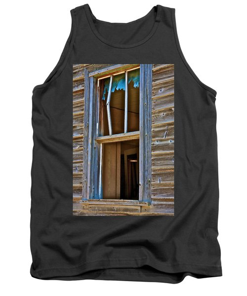 Window With A Light Tank Top by Johanna Bruwer