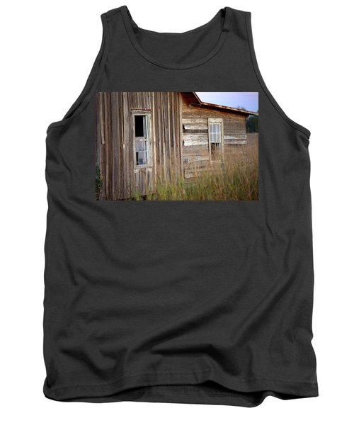 Tank Top featuring the photograph Windows On The World by Gordon Elwell