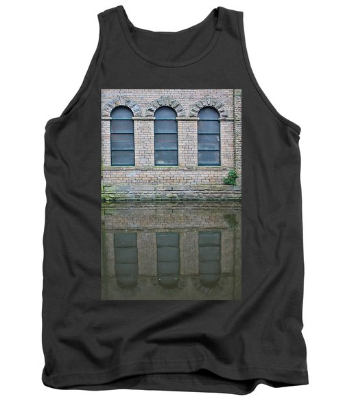 Windows Reflected In Water Tank Top