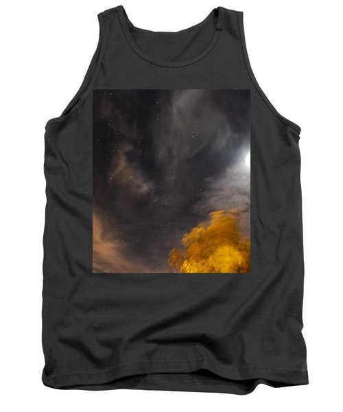 Tank Top featuring the photograph Windy Night by Angela J Wright