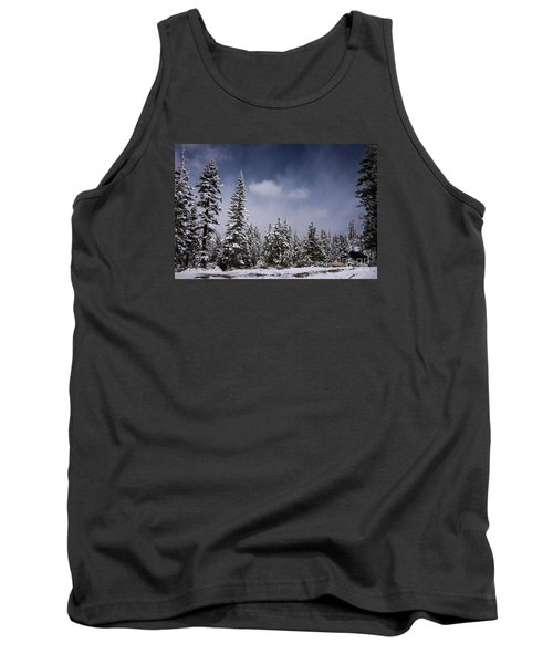 Winter Again Tank Top by Janis Knight