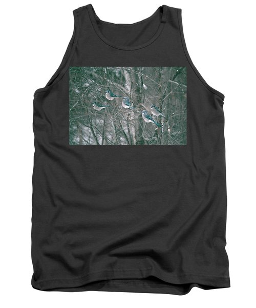 Tank Top featuring the photograph Winter Conference by David Porteus