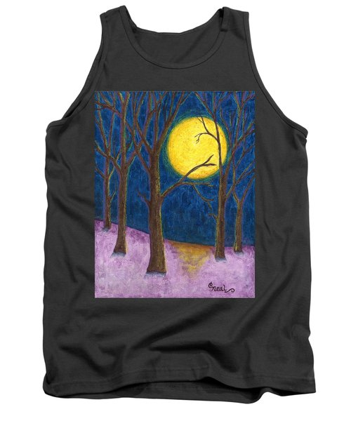 Winter Moon Tank Top