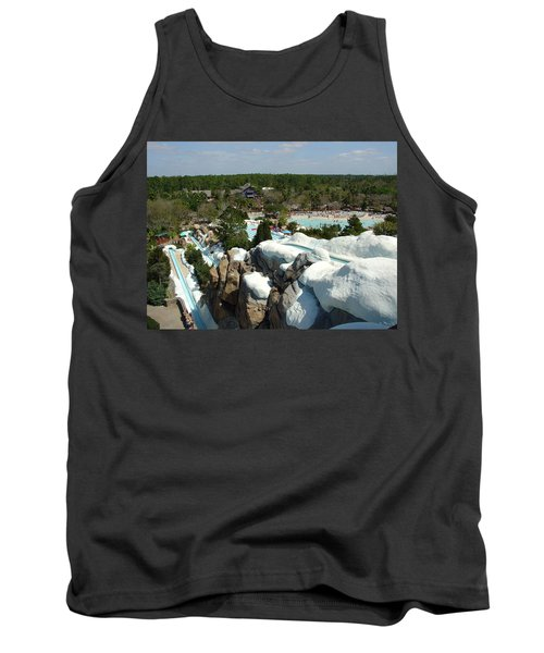 Tank Top featuring the photograph Winter Slides by David Nicholls