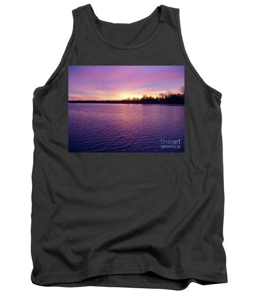 Winter Sunrise Tank Top