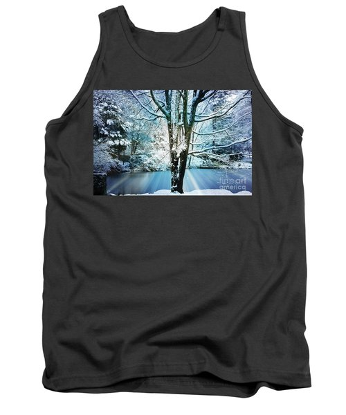 Tank Top featuring the photograph Winter Wonderland by Judy Palkimas