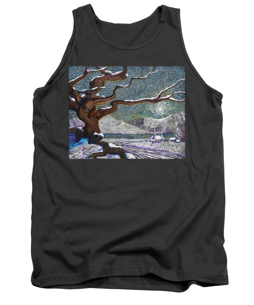 Winter's Day Tank Top
