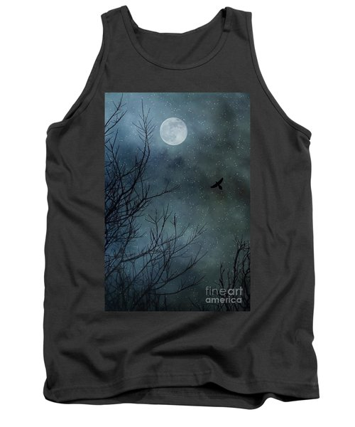 Winter's Silence Tank Top by Trish Mistric