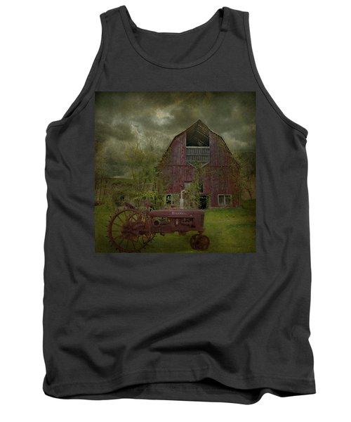 Wisconsin Barn 3 Tank Top by Jeff Burgess