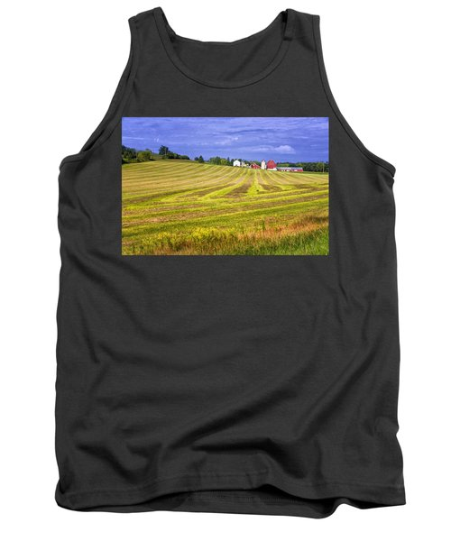 Tank Top featuring the photograph Wisconsin Dawn by Joan Carroll