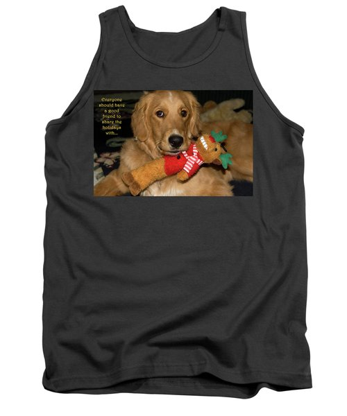 Wish For A Christmas Friend Tank Top