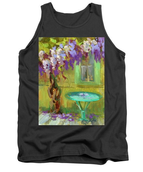 Wisteria At Hotel Baudy Tank Top