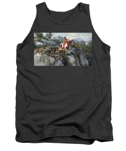 Wolf Maiden Tank Top by Rob Corsetti