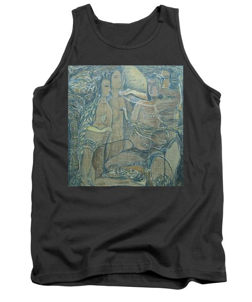 Women Chatting  Tank Top