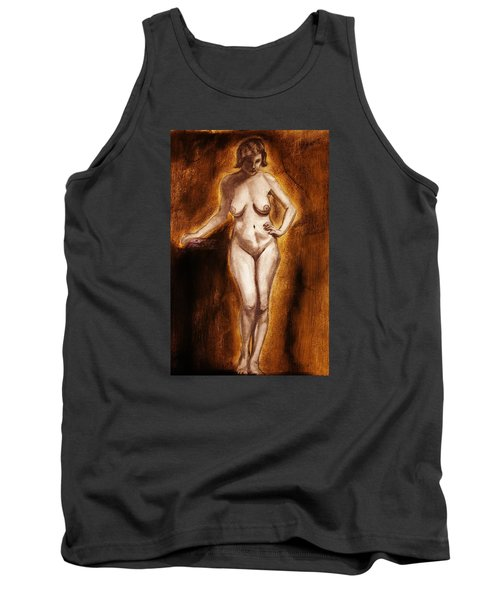 Women With Curves Are Beautiful 2 Tank Top by Michael Cross