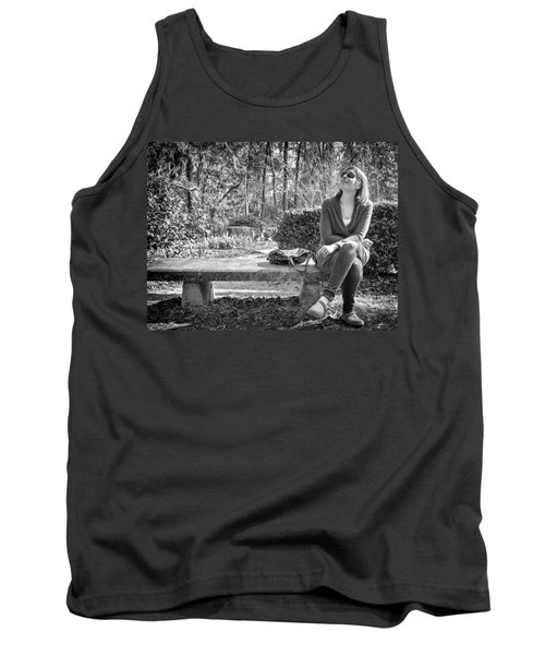 Tank Top featuring the photograph Wonder by Howard Salmon