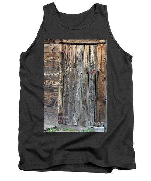 Wood Shed Door Tank Top