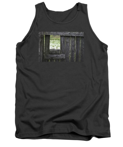 Wooden Blind Tank Top