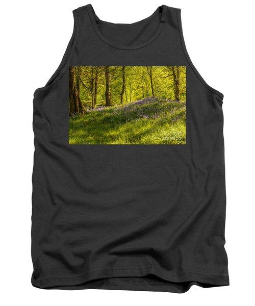 Woodland Of Bluebells Tank Top