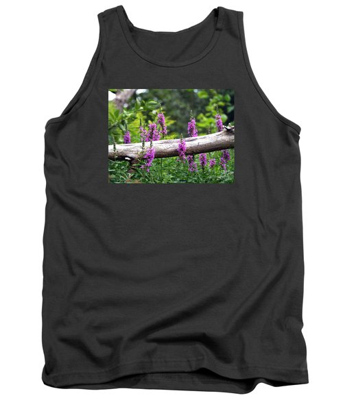Tank Top featuring the photograph Woodland Treasures by Susan  Dimitrakopoulos