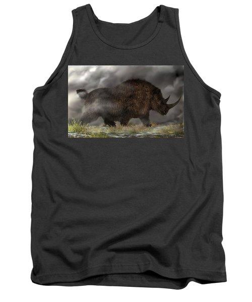 Woolly Rhinoceros Tank Top