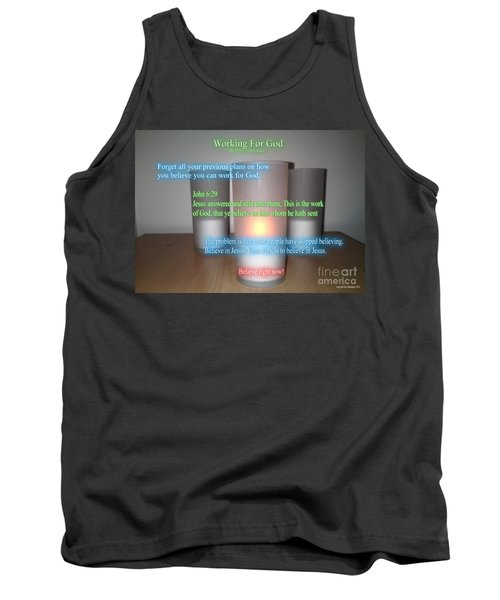 Working For God Tank Top