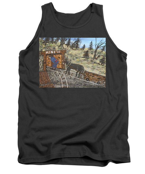 The Coal Mine Tank Top by Jeffrey Koss